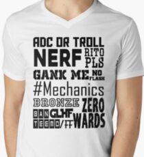 League things Men's V-Neck T-Shirt