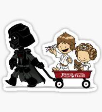 Wagon Ride Sticker