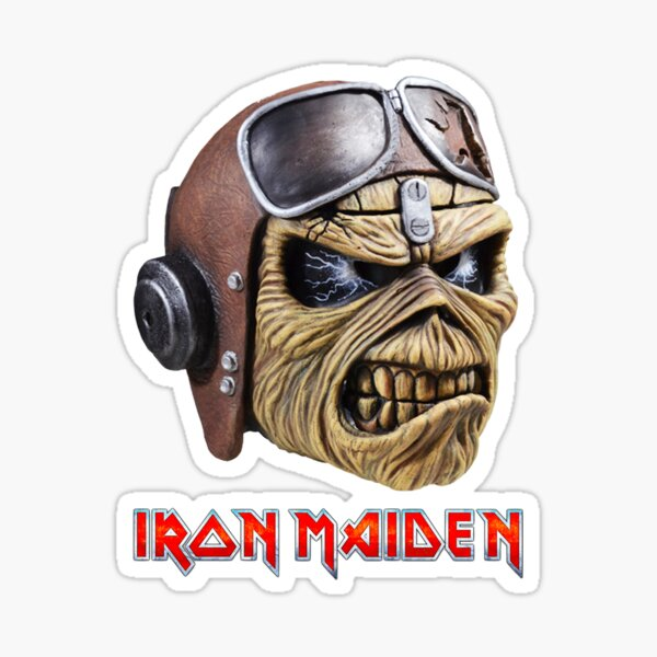 Le meilleur du logo du groupe Iron Maiden Sticker