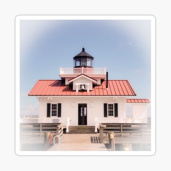 Nostalgic Manteo Lighthouse Sticker