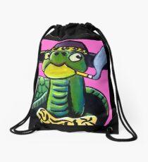 Turtle Pimp Drawstring Bag