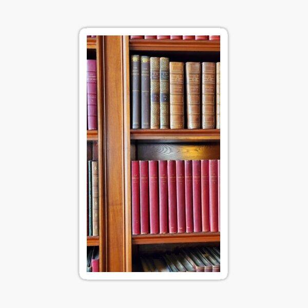 Leather Bound Books Sticker