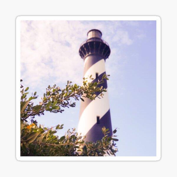 Vintage Outer Banks Lighthouse Sticker