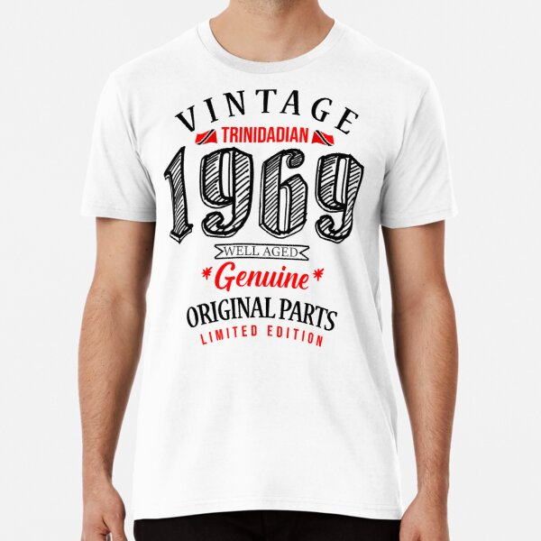 Vintage Trinidadian Birthday 1969 Premium T-Shirt