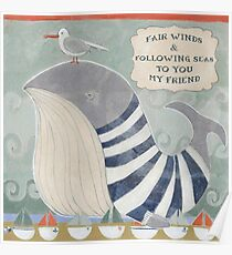 Fair Winds and Following Seas  Poster