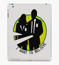 mulder and scully iPad Case/Skin