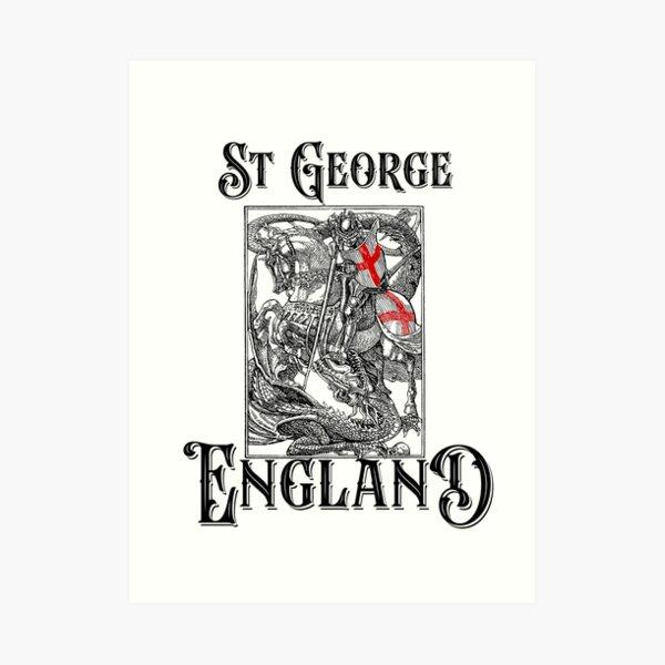 St George England Patron Saint English St George's Day Art Print