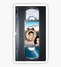 Groundhog Day vhs iphone-case Sticker