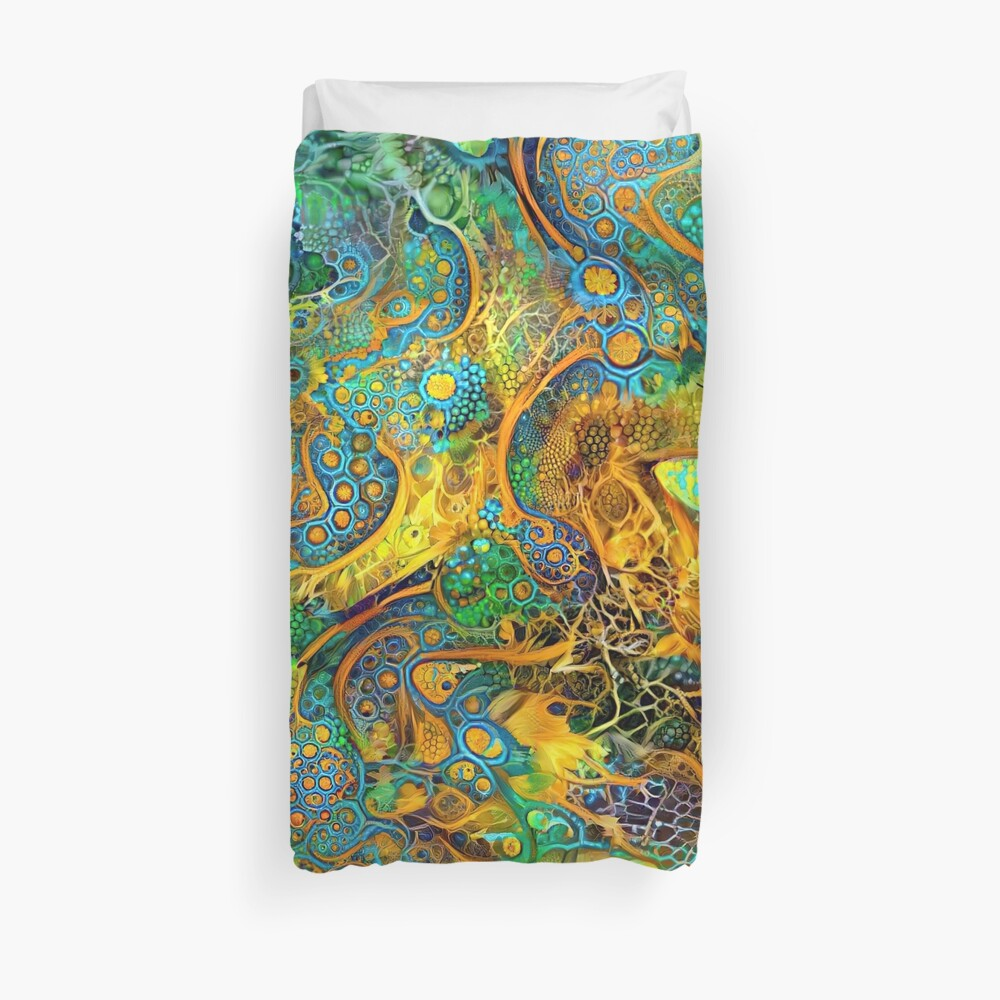 DeepStyle abstraction Duvet Cover