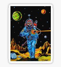SPACE CONQUERER Sticker