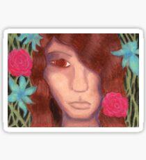 Oil Pastel Dionysus Sticker