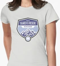Hoth Search and Rescue Womens Fitted T-Shirt