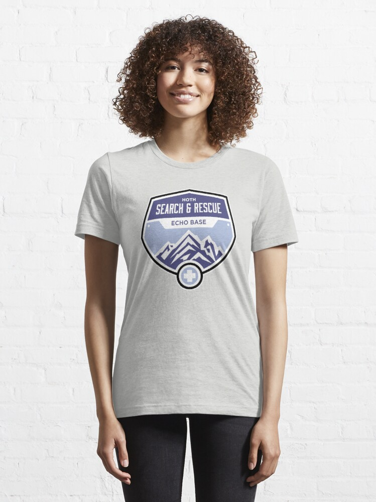 Alternate view of Hoth Search and Rescue Essential T-Shirt