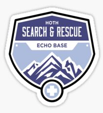 Hoth Search and Rescue Sticker