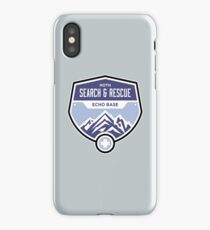 Hoth Search and Rescue iPhone Case