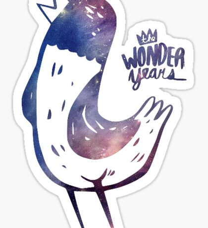 The Wonder Years Sticker
