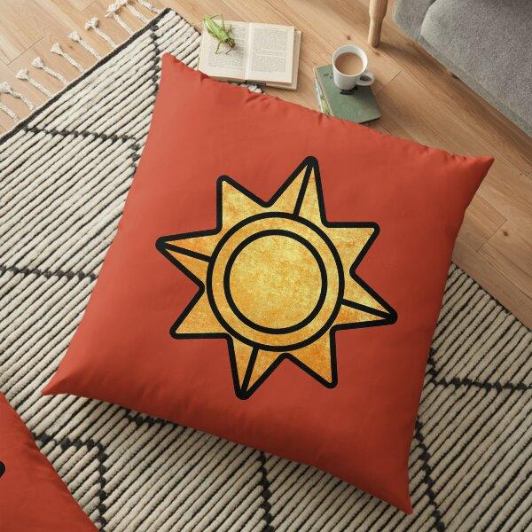 Real Hexoatl Floor Pillow