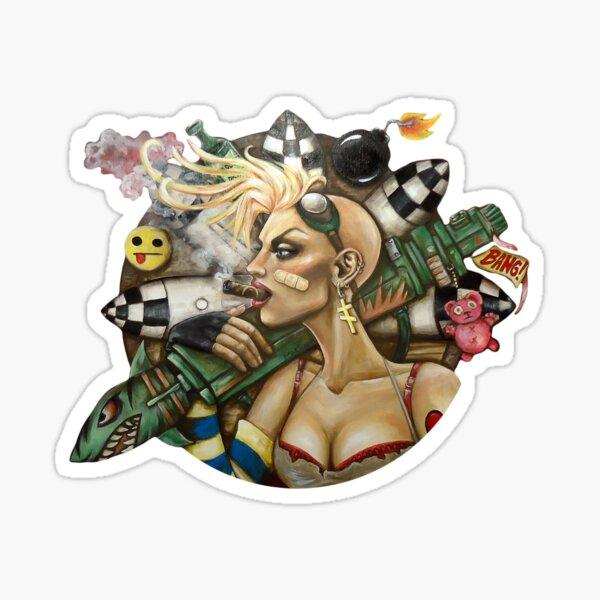 Tank Girl Nouveau Sticker