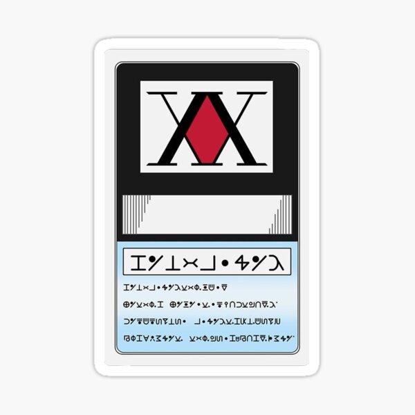 Hunter card Sticker