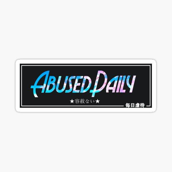 Abused Daily - Car Slap (Sakura) Sticker