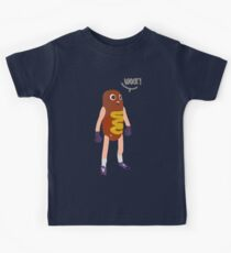 Hot dog man Kids Tee