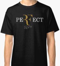 rf, roger federer, roger, federer, tennis, champion, wimbledon, tournament, sport, legend, australia, ball, signature, logo, symmbol. Classic T-Shirt