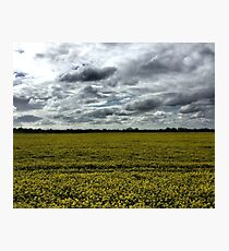 In search of a big Kent sky Photographic Print