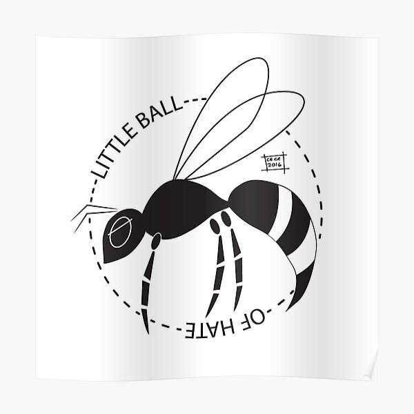The little balls of hate called: Wasps! Poster