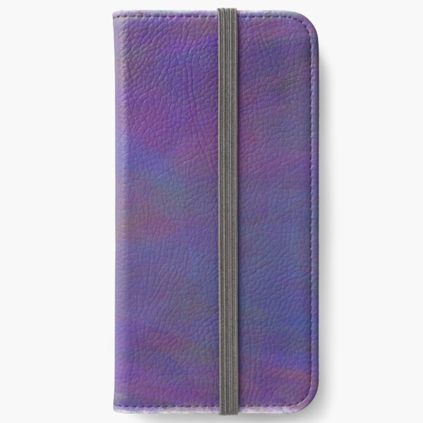 Lines and Curves Digital Art iPhone Wallet