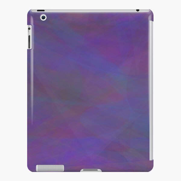 Lines and Curves Digital Art iPad Snap Case