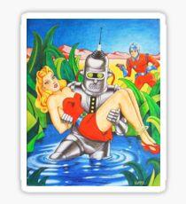 SHOMBERG ROBOT Sticker