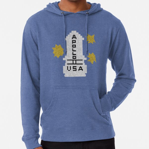 Hello Apollo 11 (The Shining) Sweater Texture 2 Danny Torrence Lightweight Hoodie