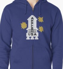 Hello Apollo 11 (The Shining) Danny Torrence Zipped Hoodie