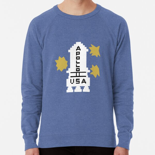 Hello Apollo 11 (The Shining) Danny Torrence Lightweight Sweatshirt