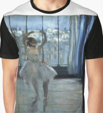 Edgar Degas - Dancer In Front Of A Window Graphic T-Shirt