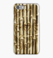 Bamboo Pattern iPhone Case/Skin