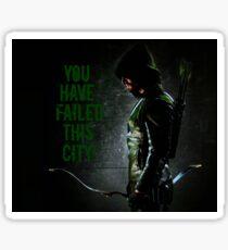 Arrow Quote Sticker