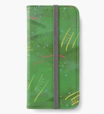 Painty jungle iPhone Wallet/Case/Skin
