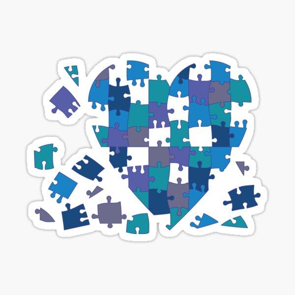 Heartbreak by Faye Klein Sticker