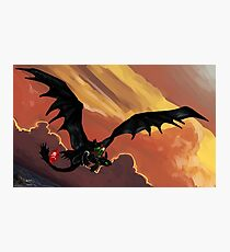 If You Were Flying--HTTYD Poster Photographic Print