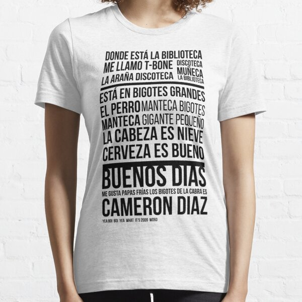 Donde está la biblioteca Essential T-Shirt