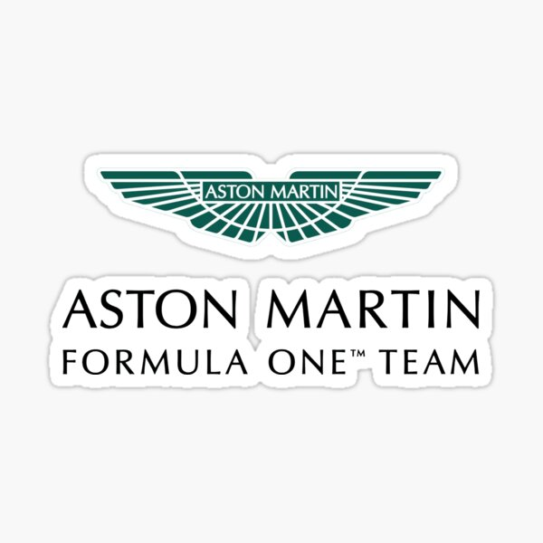 Logo Aston Martin F1 Sticker