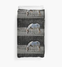 Horse Plains Duvet Cover