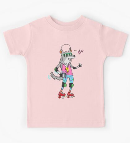 MAXIMUM COOL WOLF: JUST WOLF Kids Clothes