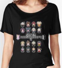Camiseta ancha para mujer Super Retro Despair 2