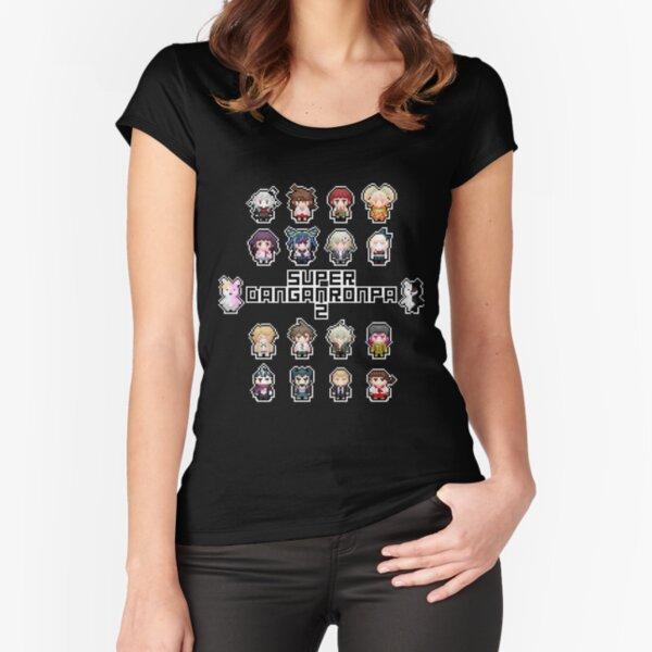 Super Retro Despair 2 Fitted Scoop T-Shirt