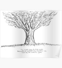 the oak tree Poster