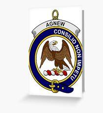 Agnew Clan Badge Greeting Card
