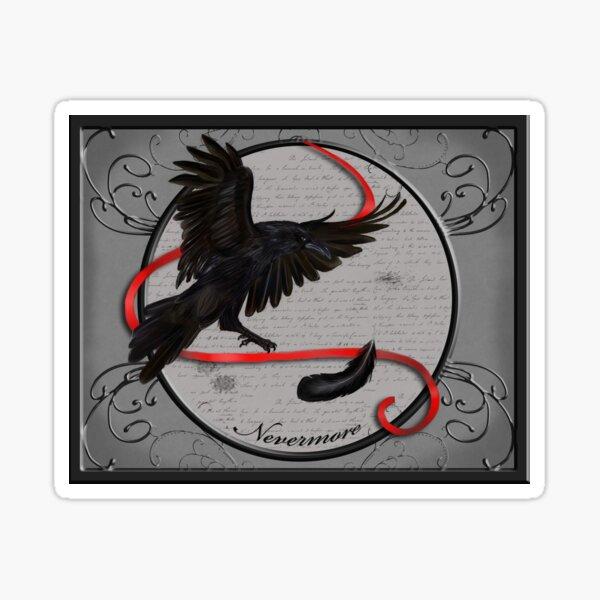 Nevermore Sticker