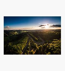 Karussell at Sunset Photographic Print
